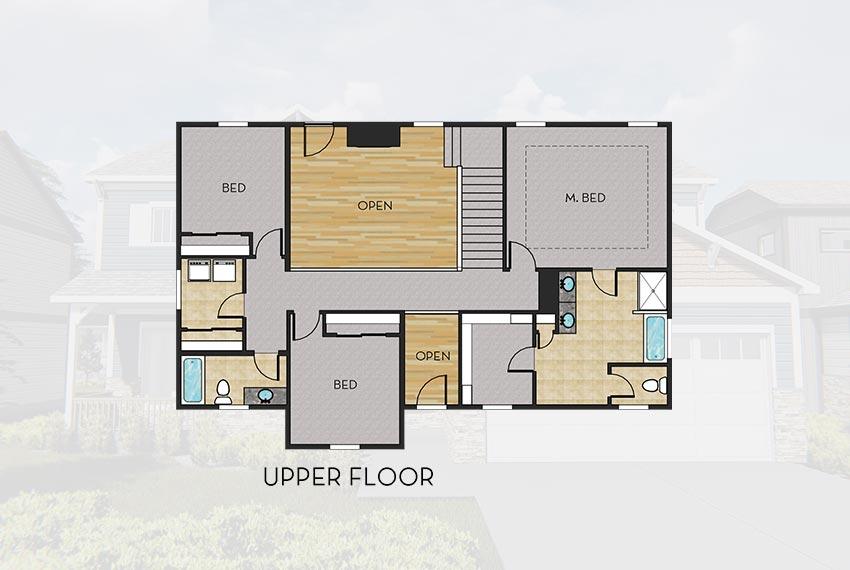lynwood floorplan upper
